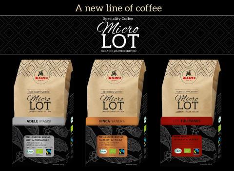 Ny kaffeserie från Kahls