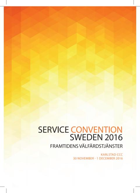 Service Convention Sweden 2016