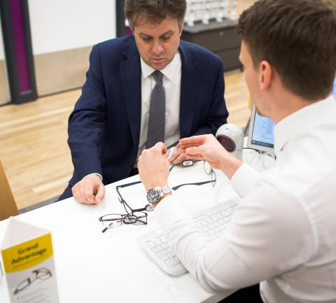 Local MP Julian Sturdy officially opens new optical store in York