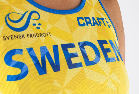 Craft - Swedish Athletics national team - Singlet close
