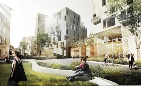 Studieboliger til 700 studerende i København N