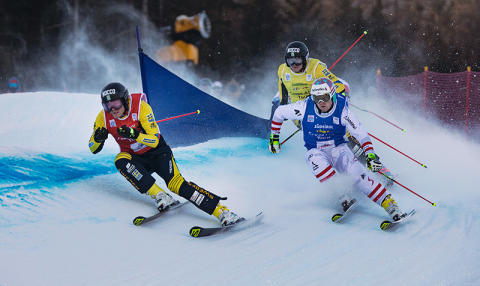 Världseliten i skicross kommer till Idre Fjäll 12–14 januari