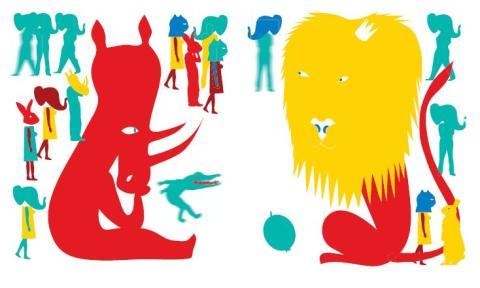 Monika Hanulak illustration til bogen  Pampillo.