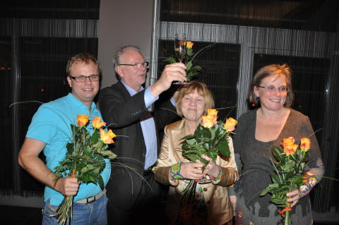 Alliansen firar valet 2010