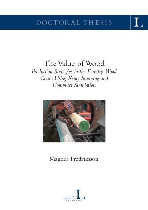 Från skog på rot till träprodukt