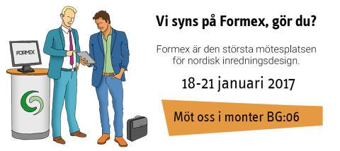 Vi syns väl på Formex?