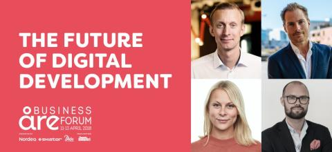 Telavox i paneldebatt med Facebook och Kry under Åre business forum