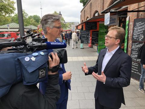 Dr. Bernd Hochberger zu Gast bei münchen.tv