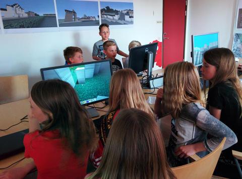 Minecraft-tävlingen i Tomelilla