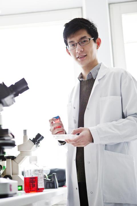 Puran Chen får Anders Walls Unga Forskare-stipendium 2013
