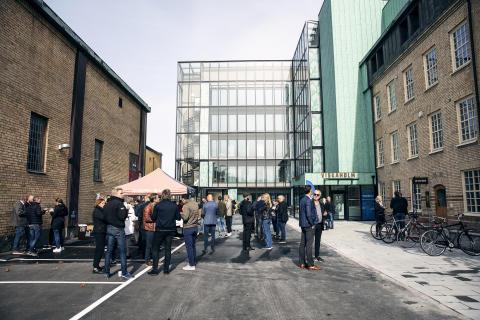 Invigning Viskaholm, Borås