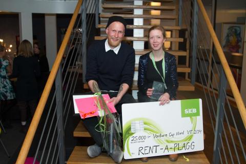Miun-studenter prisas för affärsidéer