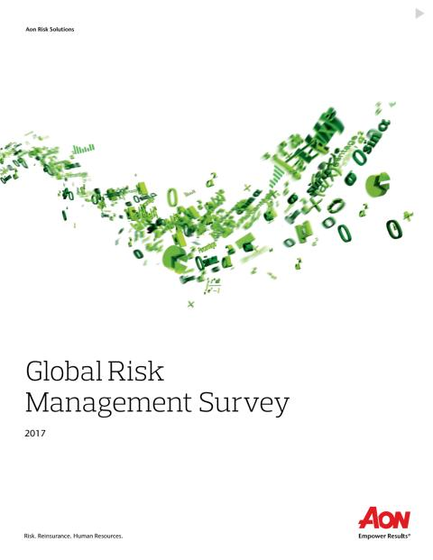 2017 Global Risk Management Report Final full report