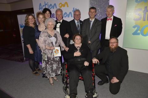 Lisburn stroke survivor wins Art accolade at Northern Ireland Life After Stroke Awards