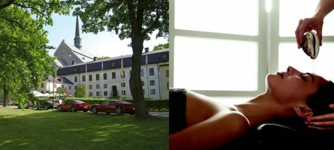 Vadstena Klosterhotel har öppnat SPA