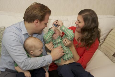 Internationell vädjan om tid för familjen