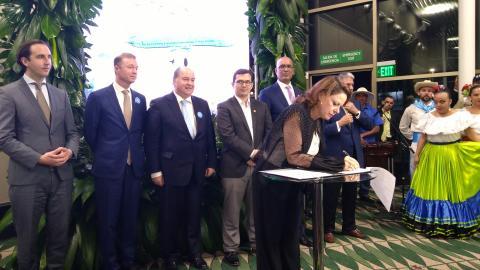 KLM og Costa Rica setter biobrensel på kartet