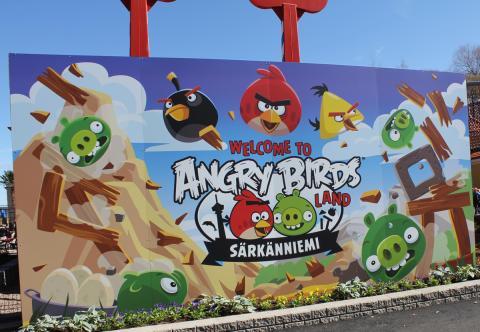Angry Birds Land opens at Särkänniemi Theme Park
