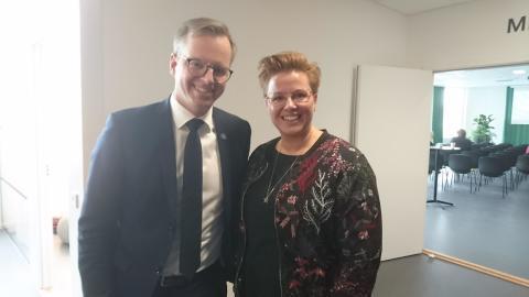 MiM möter Näringsministern!