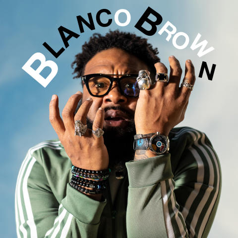 Blanco Brown_The Git Up_single cover