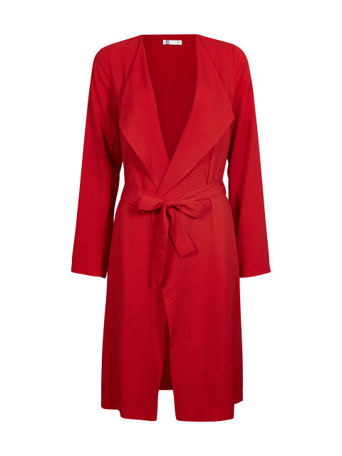 MARY COAT_red