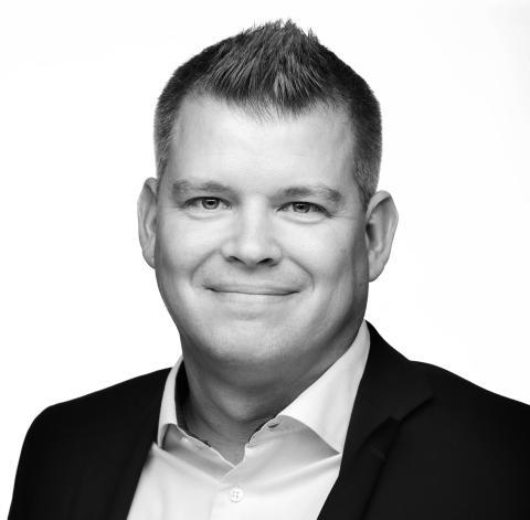 Fredrik Lööf, International Sales Manager Handheld Europe AB