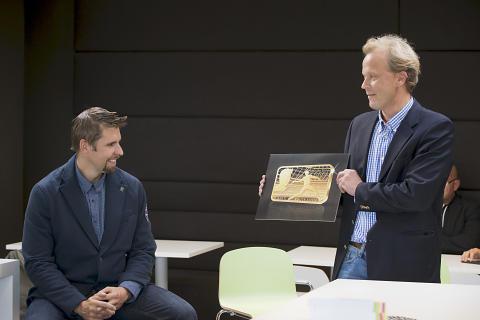Antti Ruuskanen ja Janne Häkkinen