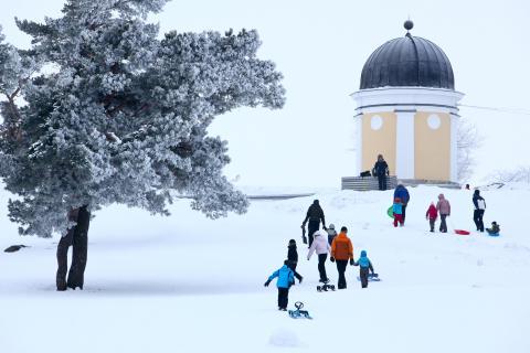 Wintery Fun in Finland