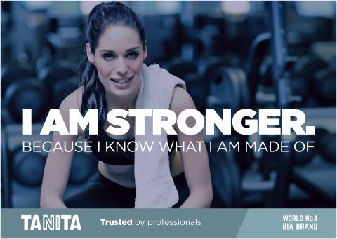 TANITA I Am Stronger Poster