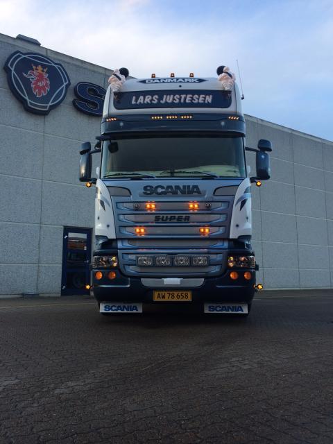 Ny Scania R 450 til Lars Justesen