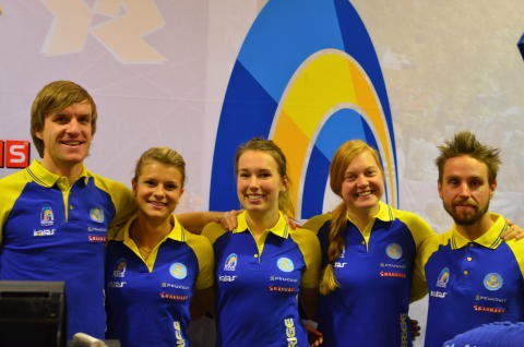 Fyra cyklister mot OS