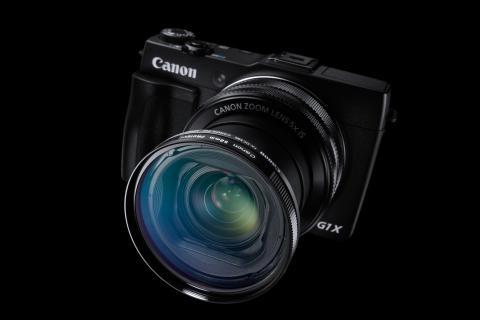 Powershot G1 X Mark II och Canon EOS 1200D