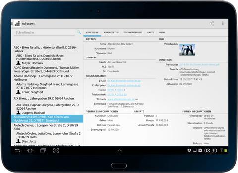 cobra Mobile CRM in komplett neuer Version für Android