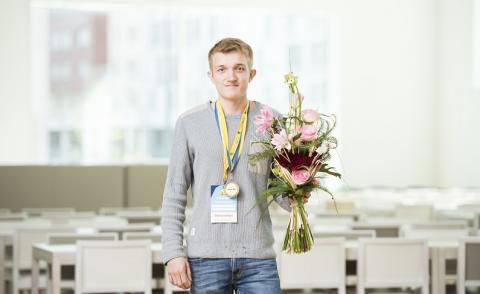 SM-guld i webbdesign till ITG-elev