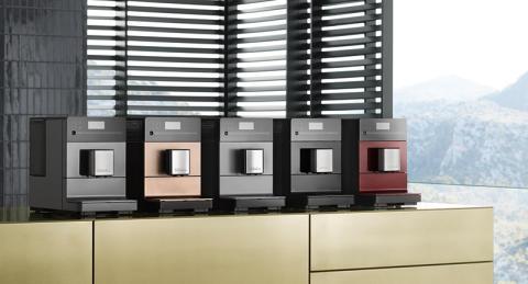 Cool formgivning för stilren njutning –  de nya kaffemaskinerna från Miele