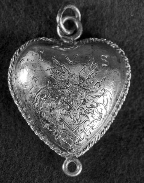 Silverhjärtat.