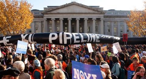 Nebraska residents challenge pipeline law