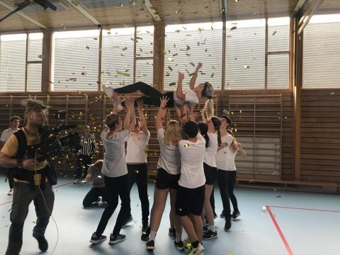 Lørenskog-elever vant drømmedag med YouTube-stjerner