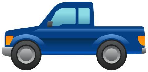 Ford Pickup Emoji