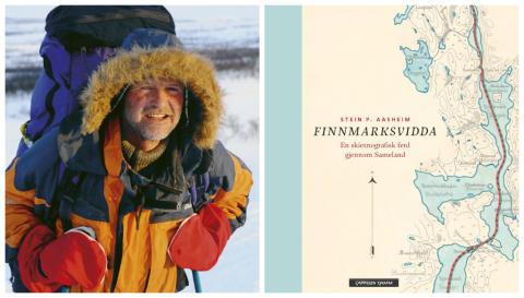 Stein P. Aasheim på skitur gjennom Finnmarksviddas historie