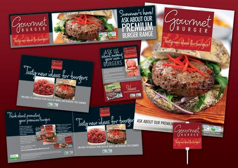 Gourmet Burger Point-of-Sale Kit