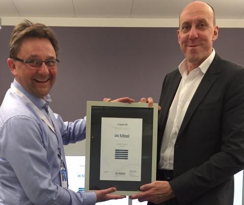 Cygate AB kan återigen stoltsera som Mitel Platinum Partner 2