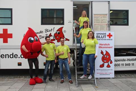 Blut spenden und Leben retten!