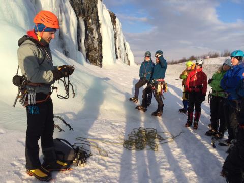Abisko Ice Climbing Festival AICF 2017