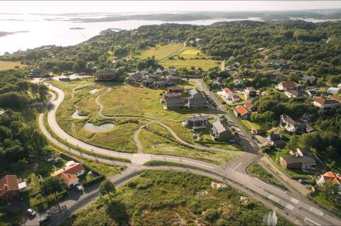 Snart slutsålt i HSB Göteborgs projekt brf Amundö Äng