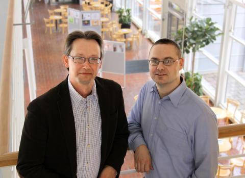 Göran Fransson och Jan Grannäs