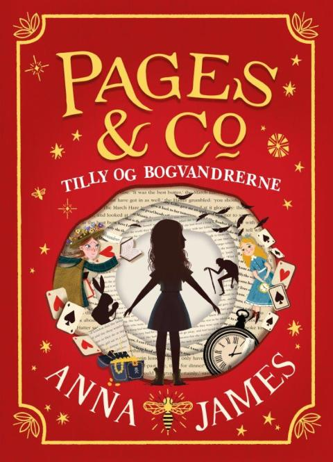 Nyhed på vej fra HarperCollins: TILLY OG BOGVANDRERNE af Anna James