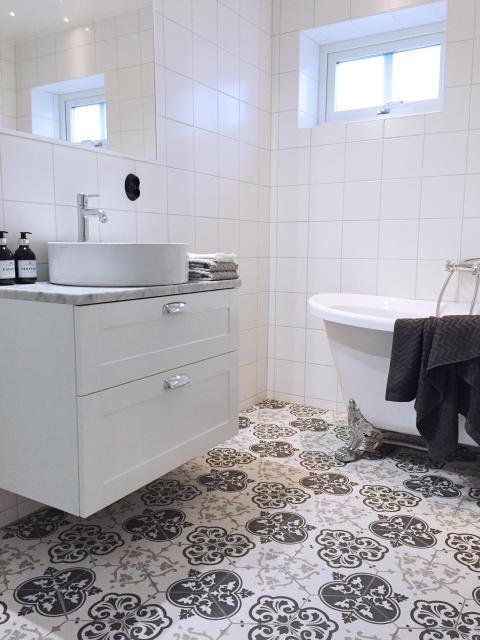 Visningshus Göteborg - badrum