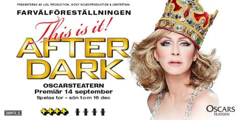 After Darks sista supershow till Oscarsteatern