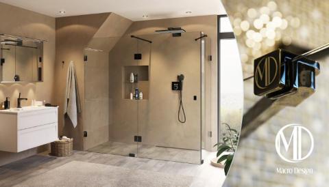 Skagenlux - en ny duschserie med stil och finess från Macro Design